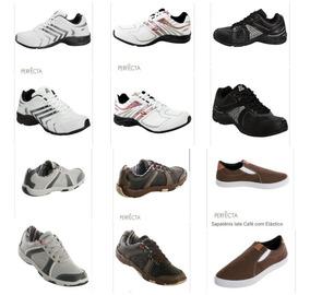 Kit 10 Pares De Sapatos No Atacado
