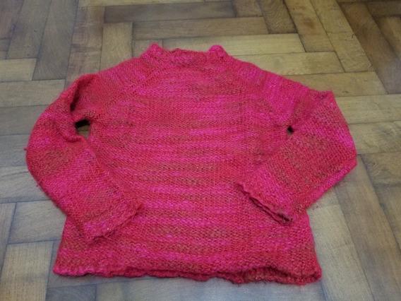 Sweater Niña Color Rojo Vivo Talle 10 Años Importado Kenzo