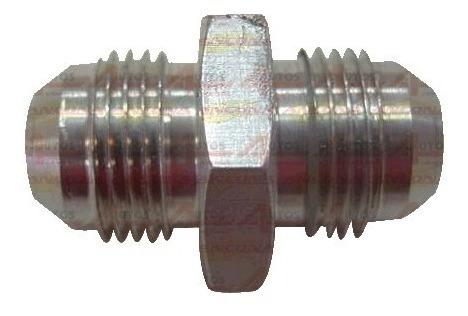 Niple Aluminio Com Rosca 8an X 8an