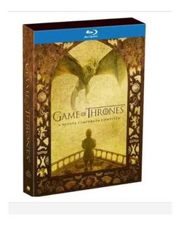 Blu-ray Game Of Thrones 5ª Temporada Completa Novo Eoriginal
