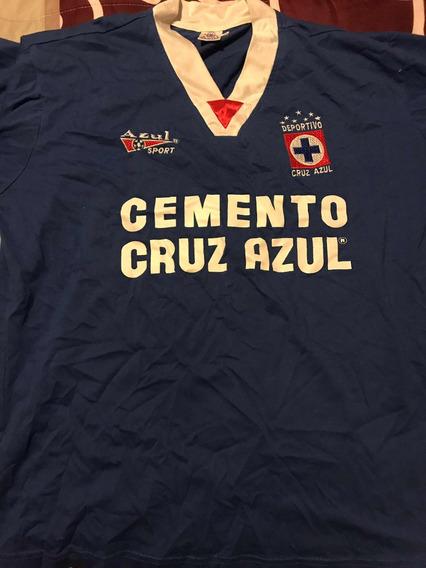 Playera Cruz Azul 80s Original