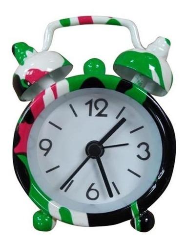 Despertador Alarma Reloj Travel Mickey Campana Hora Paseo