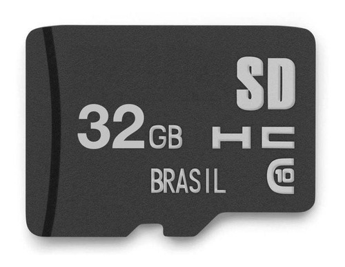 Imagem 1 de 2 de Cartão De Memória Micro Sd 32gb Multilaser Lacrado Full Hd