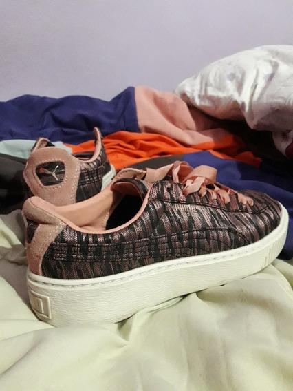 Zapatillas Puma Modelo Basquet