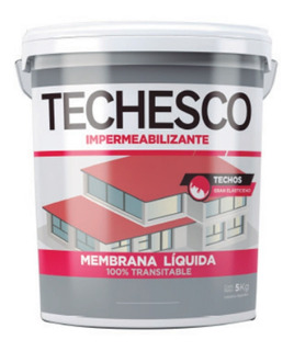 Techesco Membrana Líquida 10 Kilos Colores Transitable Mm