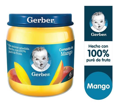 Compota Gerber® Mango Frasco 113g