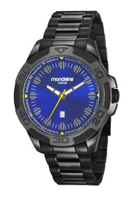 Relógio Masculino Mondaine Preto 83413gpmvps2