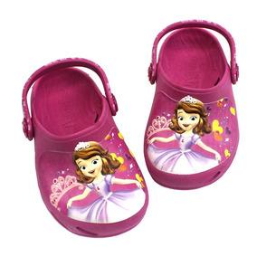 Babuche Ventor Baby Princesa Sofia Corações Disney - Pink