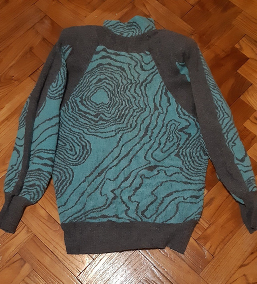 Sweaters Pullovers Turquesa Mujer Marca Bugatti Talle L