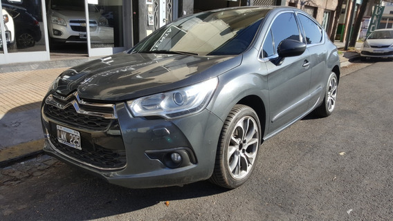 Ds 4 1.6i Turbo So Chic Gris Oscuro Impecable 2012