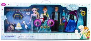 Disney Frozen Set Regalo Deluxe 15 Piezas Original Envio Ya