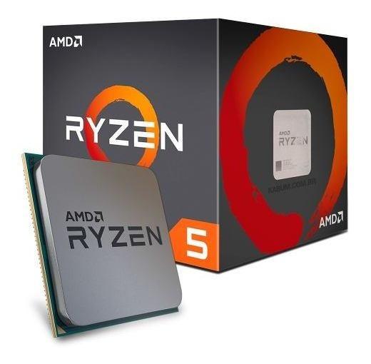 Processador Amd Am4 R5-1400 3.4ghz/10mb Ryzen