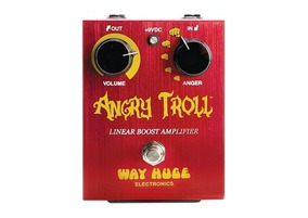 Pedal De Efeito Boost Angrytroll Way Huge Electronics Whe101