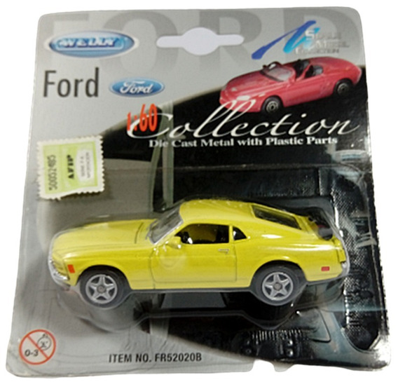 Welly Ford Mustang 1/60 Die- Cast Dc