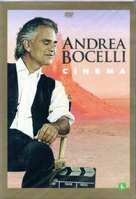 Dvd Andrea Bocelli - Cinema