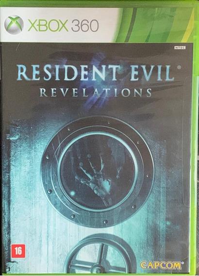 Jogo Resident Evil Revelations Xbox 360