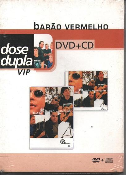 Cd + Dvd Barão Vermelho Balada Mtv Com Luva 2007 Lacrado