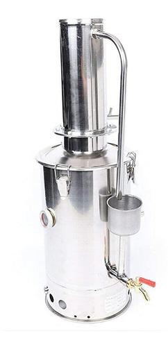 Imagen 1 de 2 de Destilador De Agua De Acero Eléctrico Laboratorio Agua 5l/h