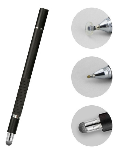 Imagen 1 de 8 de Lápiz Stylus Punta Fina, Táctil Y Bolígrafo 3en1 iPad/tablet