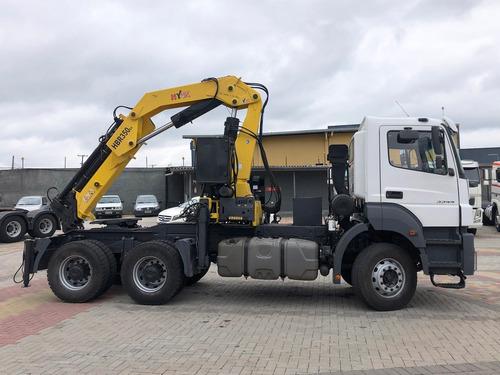 Mb Axor 3344 6x4  2015  Munck Hyva Hbr350 E4 4h=vw,cargo,fh