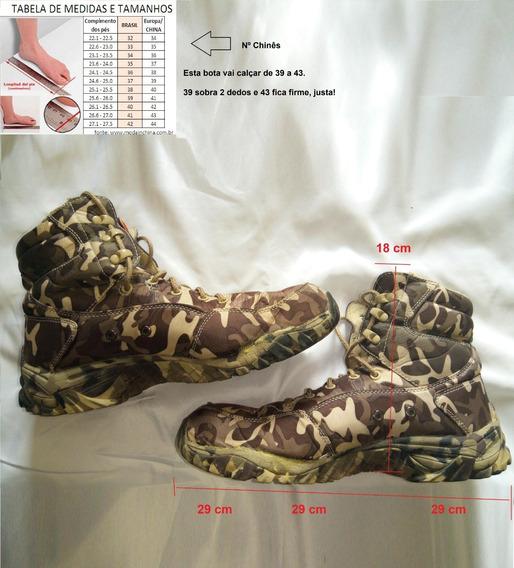 Trajes Militares - Botas Camufladas