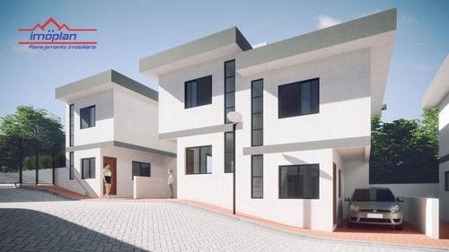 Imagem 1 de 7 de Casa À Venda, 58 M² Por R$ 235.000,00 - Jardim Santo Antônio - Atibaia/sp - Ca3909