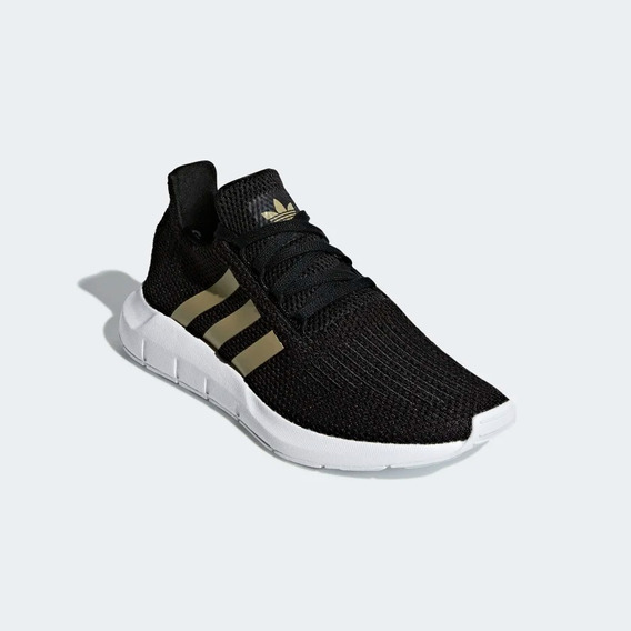 Tenis adidas Swift Run Preto - F34309 Original