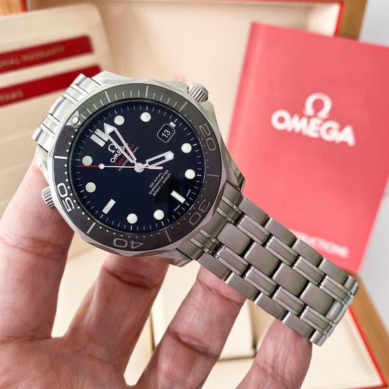 Omega Seamaster Diver 300 M Cerâmica Completo Impecável