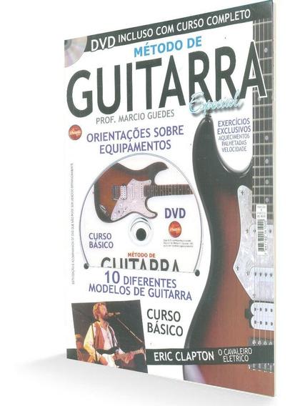 Método De Guitarra Especial Curso Básico Revista + Dvd