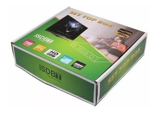 10 Un Conversor Setbox Tv (tubo E Plasma)digital Gravador