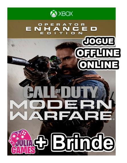 Call Of Duty Modern Warfare Operador Xbox One + Brinde