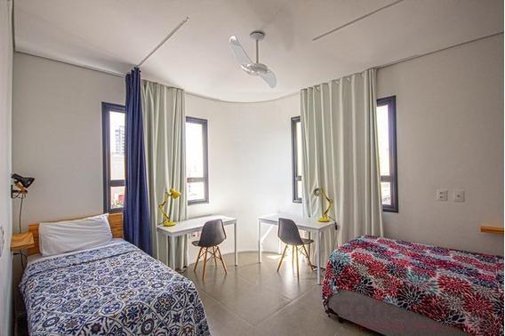 Kitnet Para Locação Em São Paulo, Campos Eliseos, 1 Dormitório, 1 Banheiro - Stfe0265_2-911563