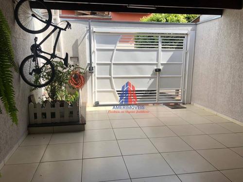 Casa Com 2 Dormitórios À Venda Por R$ 380.000,00 - Jardim São Camilo - Santa Bárbara D'oeste/sp - Ca1572