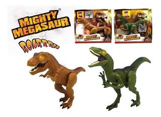 Dinosaurio T-rex O Velociraptor Luz Y Sonido Int 80077 Sudam