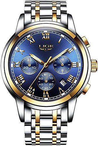 Relojes Para Hombre Relojes Analógicos De Cuarzo De Lujo Co