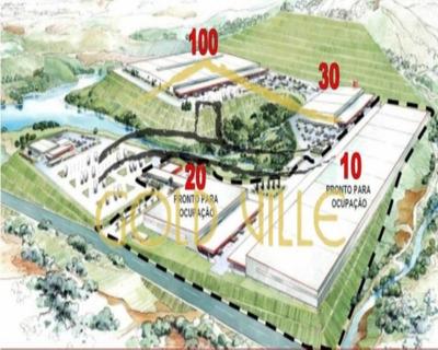 Galpão Industrial Para Locação, Empresarial Paineira (jordanésia), Cajamar - Ga0238. - Ga0238