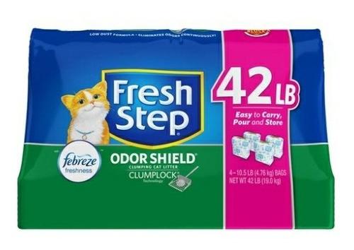 Arena Fresh Step Aglomerante 19kg (42libras)