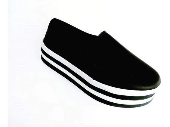 Tênis Slip Flatform Branco