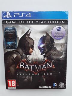 Batman Arkham Knight Goty Juego Ps4 Nuevo Y Sellado