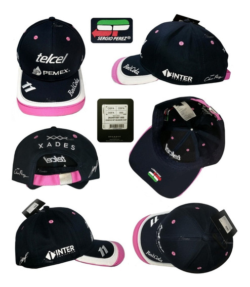 Gorra Sergio Perez Racing Point F1 Autentica Edición 2019