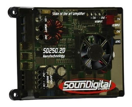 Módulo Amplificador Soundigital 250rms Sd250 Brigde 4 Ohms