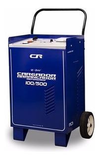 Cargador Arrancador De Bateria Cr Carga 100-500a 12-24 Volts