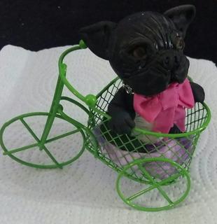 Bulldog Frances De Porcelana Fria