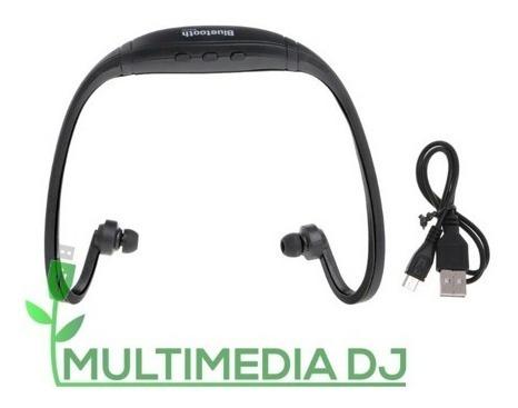 Audífonos Sport Bluetooth Bs19c Recargables Mdj