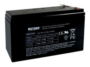 Batería Sellada Motoma 12 V 9 Ah Ups Alarmas Cercos Lámparas