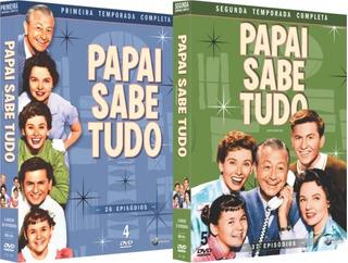 Dvd Box Papai Sabe Tudo 1ª E 2ª Temp. Original E Lacrado