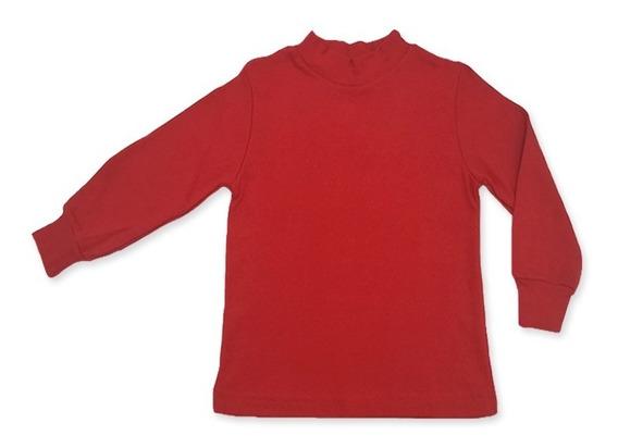 Camiseta Media Polera Niño Niña T 4 Al 16