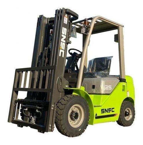 Autoelevador Snsc Fd25 0km Diesel 2.5tn 3mt Dolar Oficial