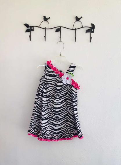Vestido Niña Bebé 24 Meses 2 Años Animal Print Rare Too