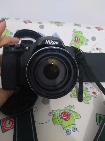 Câmera Coolpix P520 Pouquíssima Vez Usada!!